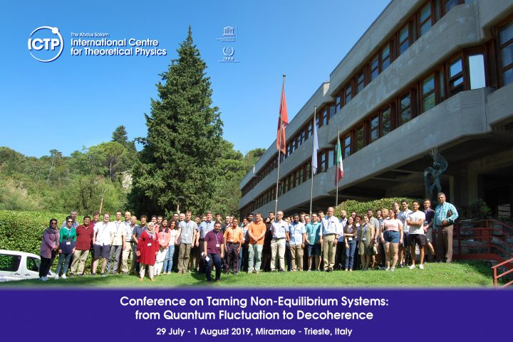 Conference on Taming Non-Equilibrium Systems