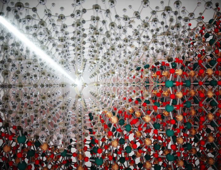 Inducing transparency by kicking the atoms